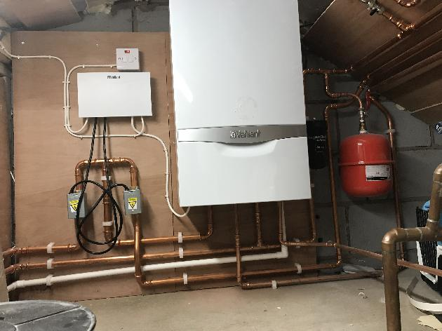 Vaillant system for high pressure
